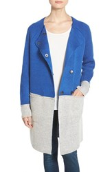 Women's Coin 1804 Colorblock Sweater Coat