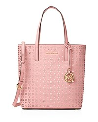Michael Michael Kors Medium Hayley North South Top Zip Tote Blossom Ballet