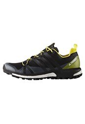 Adidas Performance Terrex Agravic Trail Running Shoes Core Black Bright Yellow