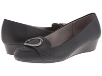 Lifestride Falon Black Women's Wedge Shoes
