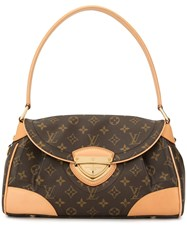 Louis Vuitton Pre Owned Beverly Mm Shoulder Bag Brown