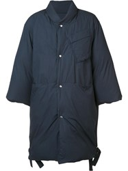 Oamc 'Officer' Down Coat Blue
