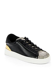 Nine West Palya Platform Sneakers Black Gold