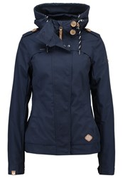 Ragwear Ewok Summer Jacket Navy Dark Blue
