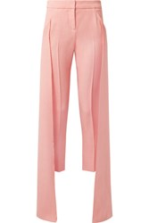 Hellessy Mojave Layered Canvas Tapered Pants Baby Pink Gbp