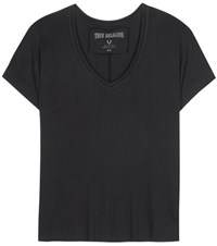 True Religion Cotton Jersey T Shirt Black