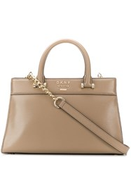 Dkny Shoulder Handbag Neutrals