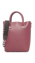 Mother Of Pearl Hoxton Mini Tote Burgundy