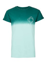 Topman Green Faded Muscle Fit Roller T Shirt