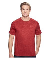 Marmot Ridgeline Short Sleeve Retro Red Heather Men's T Shirt