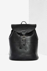 Nasty Gal Hide And Seek Leather Backpack