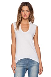 Bobi Light Weight Jersey Tee White