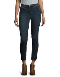 Free People Hi Roller Cropped Jeans Canewash