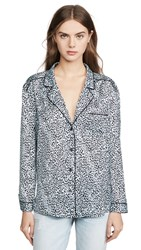 Cupcakes And Cashmere Adele Top Blue Fog