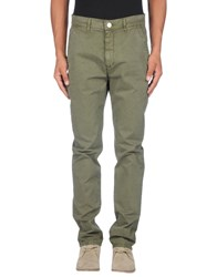 Dirk Bikkembergs Trousers Casual Trousers Men Military Green