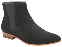Frank Wright Sundance Mens Boots Black Suede