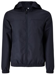 John Lewis Kin By Showerproof Hooded Anorak Navy