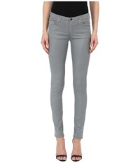 Armani Jeans Silk Shiny Evening Denim Grey