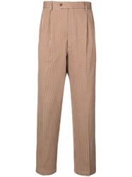 Lc23 Striped Trousers Neutrals