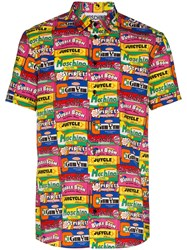 Moschino Bubblegum Print Short Sleeve Shirt 60