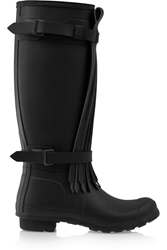 Hunter Tall Fringe Wellington Boots