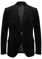 Tiger Of Sweden Hubert Black Velvet Blazer