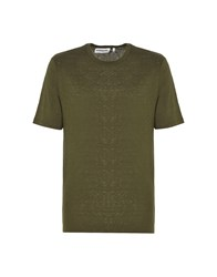 Essentiel Antwerp T Shirts Military Green