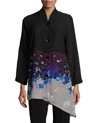 Caroline Rose In The Mix Angled Blouse Women's