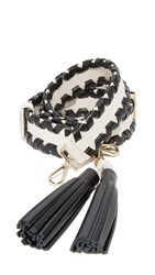 Kate Spade New York Mix It Up Tassel Guitar Strap Black Cement