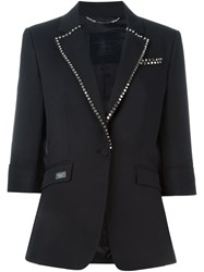Philipp Plein 'Cryptic' Blazer Black