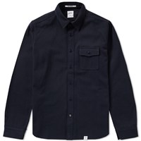 Bedwin And The Heartbreakers Rosie Overshirt Blue