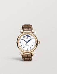 Iwc Iw459308 Da Vinci Moon Phase 36 18Ct Rose Gold And Alligator Leather Watch