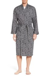 Majestic International Starling Robe Black Paisley