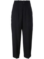 Mcq By Alexander Mcqueen Wide Leg Trousers Black