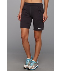 Asics Long Short 9 Steel Stealth Gray Stealth Gray Women's Shorts