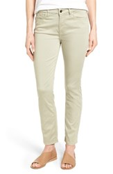 Jen7 Women's Colored Stretch Ankle Skinny Jeans Lily Pad