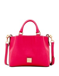 Dooney And Bourke Mini Barlow Leather Crossbody Bag Hot Pink