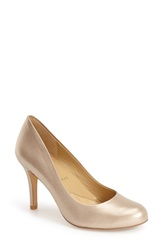 Trotters 'Signature Gigi' Round Toe Pump Women Gold Metallic