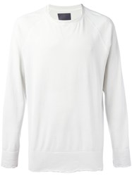 Laneus Crew Neck Sweatshirt White
