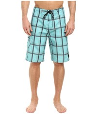 Hurley Puerto Rico Boardshort Washed Teal Men's Swimwear Blue