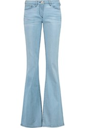 3X1 Low Rise Flared Jeans Light Denim
