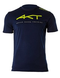 Kappa Slim Fit Athletic Tee Blue