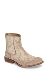Matisse Women's 'Gerald' Distressed Bootie White Leather