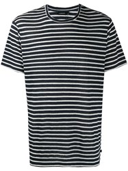 J. Lindeberg J.Lindeberg Coma Striped T Shirt Blue