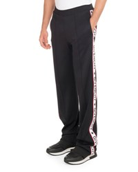 Givenchy Track Pants With Logo Taping Black