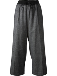 Isola Marras Cropped Trousers Grey