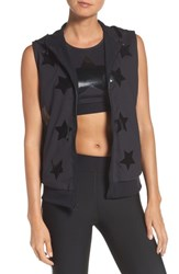 Ultracor Women's Flux Knockout Hoodie Vest Nero W Patent Nero
