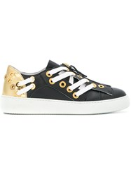 N 21 No21 Lace Up Detail Sneakers Black