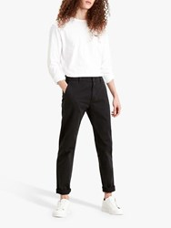 Levi's Slim Tapered Chinos Mineral Black Shady
