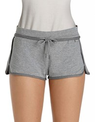 Bench Cotton Drawstring Shorts Grey Marl